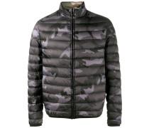 Wendbare Camouflage-Jacke - men - Polyester - 46