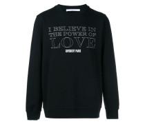 "Sweatshirt mit ""Power of Love""-Print"