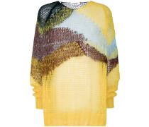 wave knit sweater