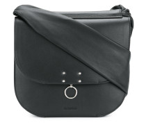 piercing detail shoulder bag
