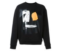 Sweatshirt mit abstraktem Print