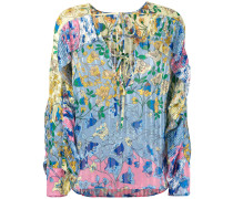 - Bluse mit Blumen-Print - women - Polyester - 40