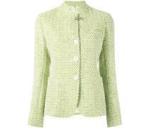 Einreihige Tweed-Jacke