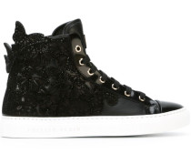 Verzierte High-Top-Sneakers - women