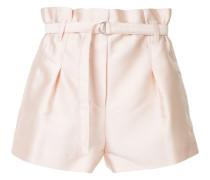 Kurze Paperbag-Shorts