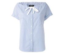 Bluse mit Schleifendetail - women - Baumwolle