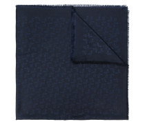 monorgam-print scarf