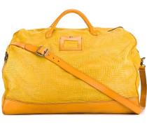 Reisetasche in Krokodillederoptik