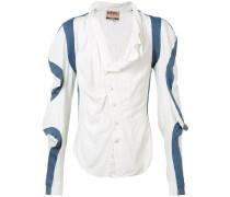 Dekonstruiertes Hemd - unisex - Seide/Viskose