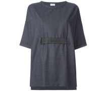 belted wide fit T-shirt