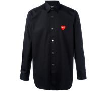 Hemd mit aufgesticktem Herz