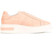 Flatform-Sneakers mit Schnürung - women