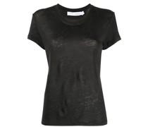 T-Shirt mit gewelltem Saum