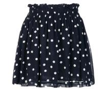 polka-dot mini skirt