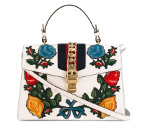 medium Sylvie appliqué tote