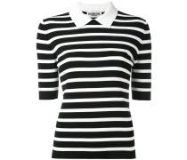stripe knitted top - women