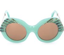 Sonnenbrille in Oversized-Passform