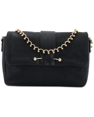 Valentino Damen embellished snake embossed shoulder bag