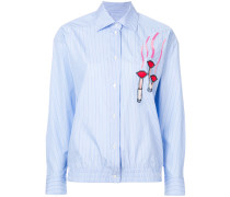 applique detail shirt