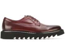 ridged sole Derby shoes