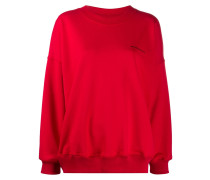 'Notrainproof' Oversized-Sweatshirt