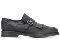 Monk-Schuhe mit Budapestermuster - men