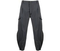 zip-detail cargo trousers