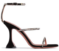 'Gilda 95' Sandalen mit Kristallen