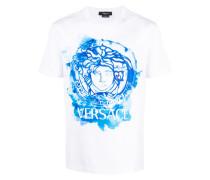 T-Shirt mit Medusa-Print