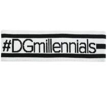 """Stirnband mit """"#DGmillennials""""-Aufschrift"""