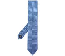 chain print tie