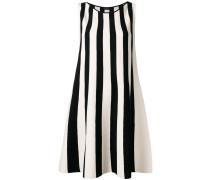 Ausgestelltes Kleid mit Streifen - women