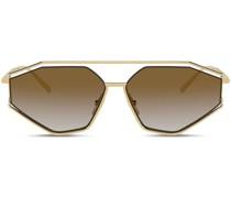 'Gros grain' Sonnenbrille