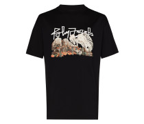 "T-Shirt mit ""Desert Skull""-Print"