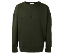 Sweatshirt im Distressed-Look - unisex