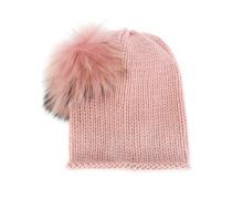 pompom trim hat