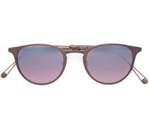 'Oxford' Sonnenbrille - women - Acetat/Metall