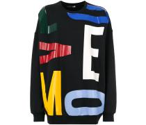 Sweatshirt mit Buchstaben-Print