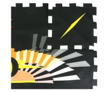 Schal mit abstraktem Print - unisex