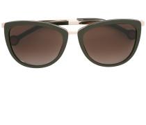 Sonnenbrille mit geprägten Bügeln