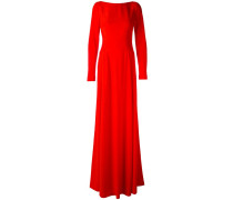 Robe mit Schleppe - women - Acetat/Viskose - 42