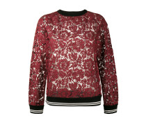 Sweatshirt aus Spitze