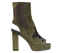 Stiefel aus Leder - women - Ziegenleder/Leder