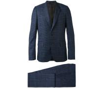 plaid two-piece suit - men - Wolle/Viskose - 40