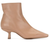 Lange leather booties