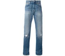 Gerade Jeans in Distressed-Optik - men
