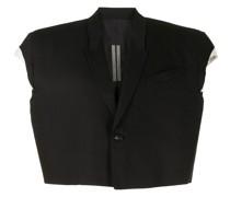 Cropped-Jacke mit Schnalle