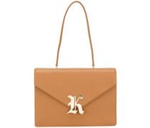 'Gothic K' Handtasche - women - Kalbsleder
