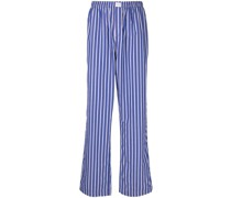 Gestreifte Hose im Pyjama-Style