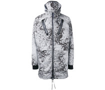 Windbreaker mit Farbklecks-Print